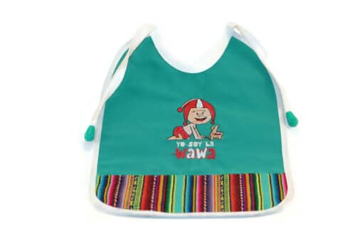 Babylätzchen Wawa, türkis