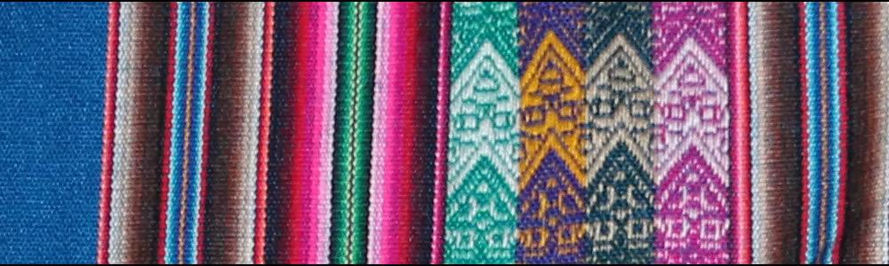 Peruanische Manta, nah