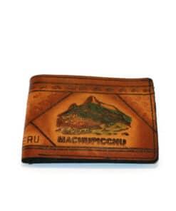 Geldbörse Machu Picchu, Vorderseite
