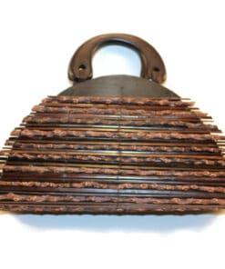 Handgemachte Handtasche Holz