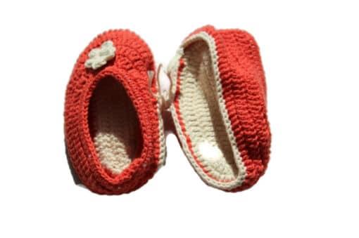 Babyschuhe Rot