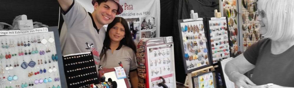 Peru Shop Verkaufsstand