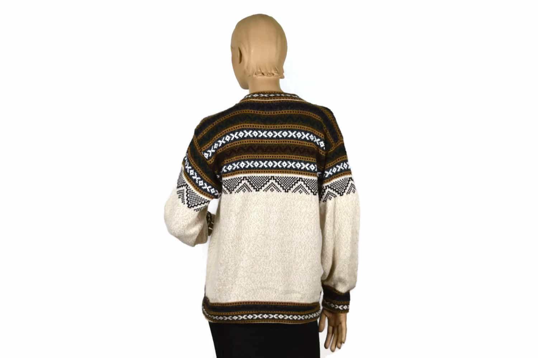 Alpaka Pullover Atahualpa beige (M)