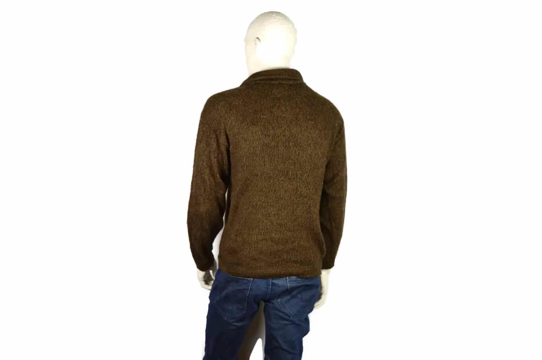 Alpaka Pullover Doble braun (L)
