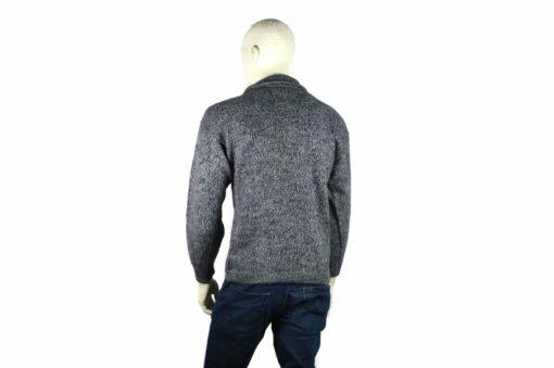 Alpaka Pullover Doble grau (M)