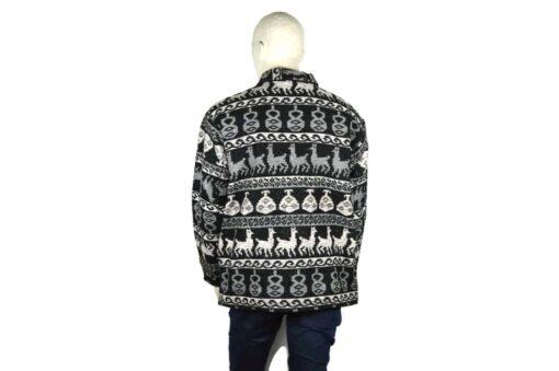 Jacke aus Schurwolle grau (XL)