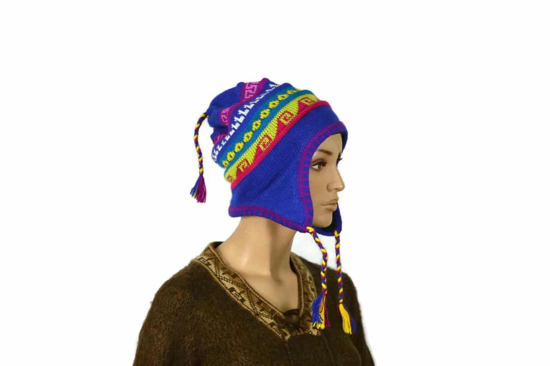 Chullo Inka blau