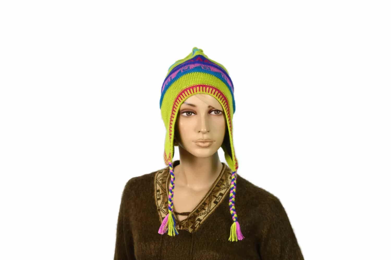 Chullo Inka hellgrün