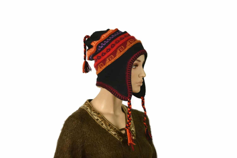 Chullo Inka schwarz