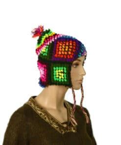 Alpaka Mütze Palanto Schwarz