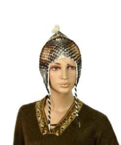 Alpaka Mütze Palanto Braun
