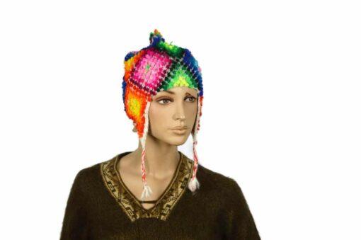 Alpaka Mütze Palanto Weiß