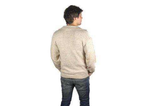 Einfarbe Pullover beige