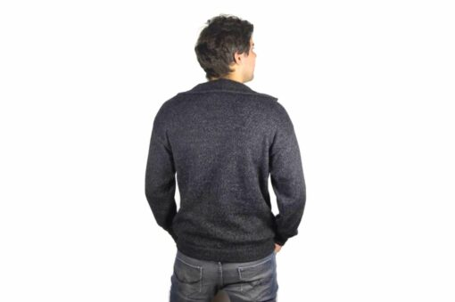 Einfarbe Pullover dunkelgrau