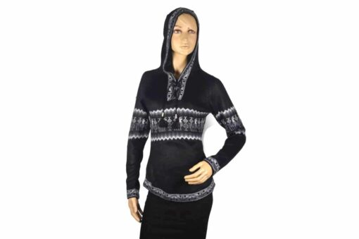Alpaka Pullover Shakira schwarz