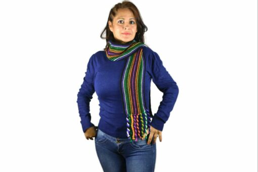 Schal Regenbogen Modell 2