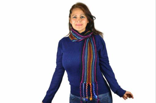 Schal Regenbogen Modell 5