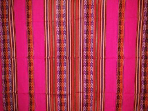 Manta Decke Aguayo Fuchsia