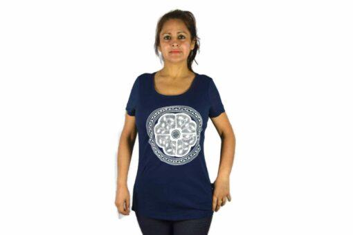 Ayhuasca Shirt Damen Dunkelblau