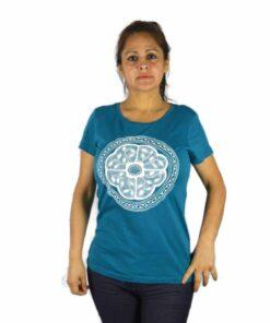 Ayhuasca Shirt Damen Türkis