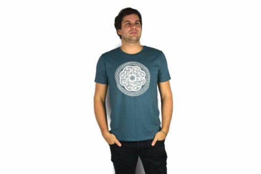 Ayhuasca Shirt Herren Türkisblau
