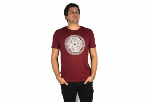 Ayhuasca Shirt Herren Weinrot