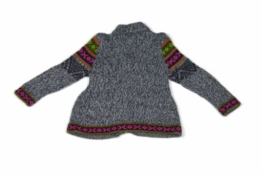 Alpaka Kleidchen grau 80