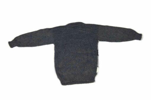 Alpaka Pullover Inka Dunkelgrau 110