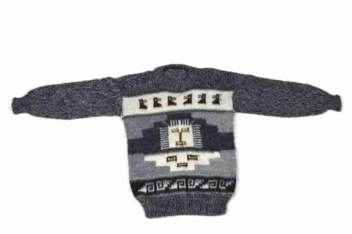 Alpaka Pullover Inka Grau 110