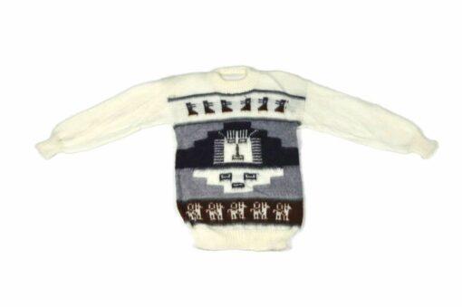 Alpaka Pullover Inka Weiß 110