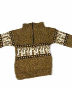 Kinderpullover Lama