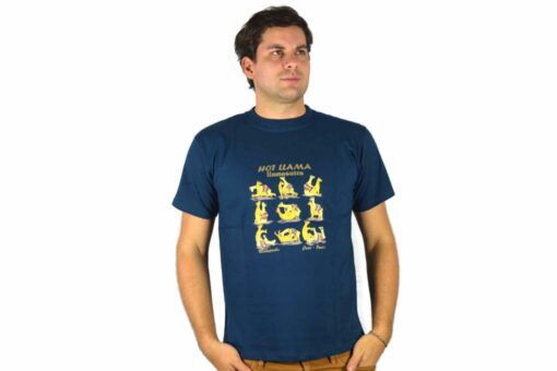 Shirt Llamasutra dunkelblau