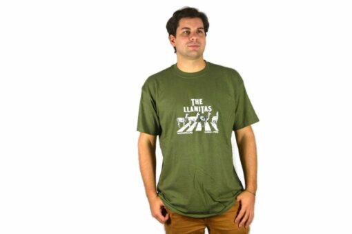 Shirt The Llamitas olivgrün