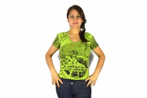 Shirt Machu Picchu Grün