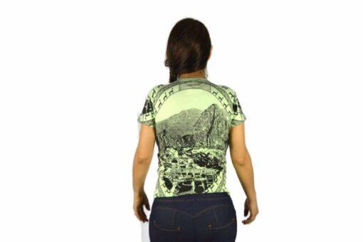 Shirt Machu Picchu Hellgrün