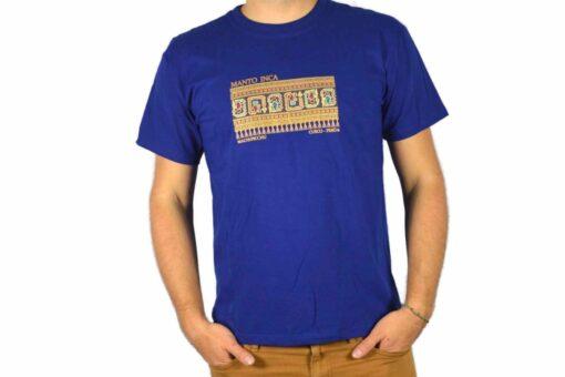 Shirt Manto Inca Blau