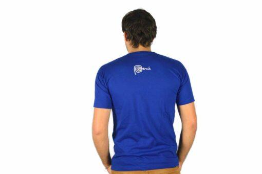 Shirt Peru Blau