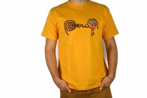 Shirt Peru Chullo Gelb