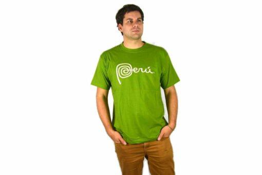 Shirt Peru Hellgrün