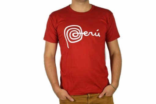 Shirt Peru Rot
