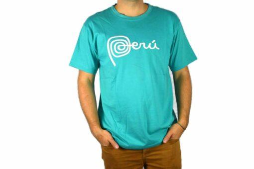 Shirt Peru Türkis