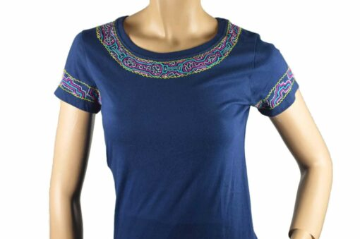 Shipibo Shirt Damen Piai S Modell 4