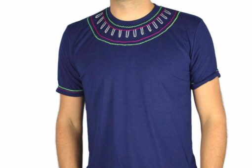 Shipibo Shirt Miokan XL Modell 2