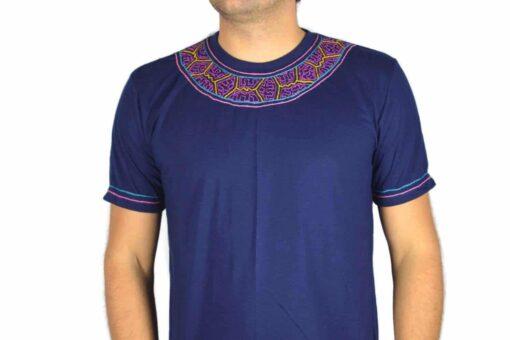 Shipibo Shirt Miokan XL Modell 3