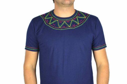 Shipibo Shirt Miokan XL Modell 6