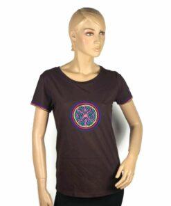 Shipibo Shirt Damen Tupi M Modell 2