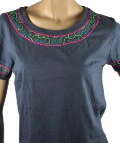 Shipibo Shirt Damen Metsa L Modell 1