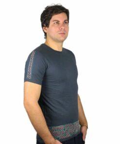 Shipibo Shirt Ronin Grau M