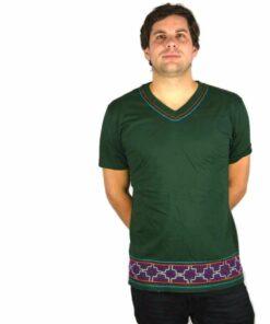 Shipibo Shirt Huischti XL Modell 2