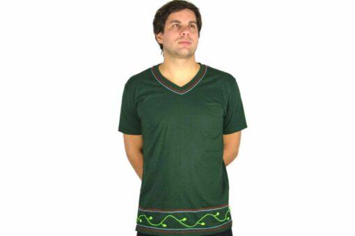 Shipibo Shirt Huischti XL Modell 3